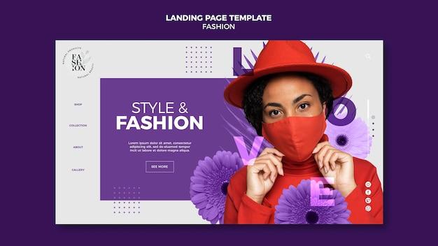 Página de inicio de moda