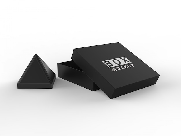 Pakket box mockups