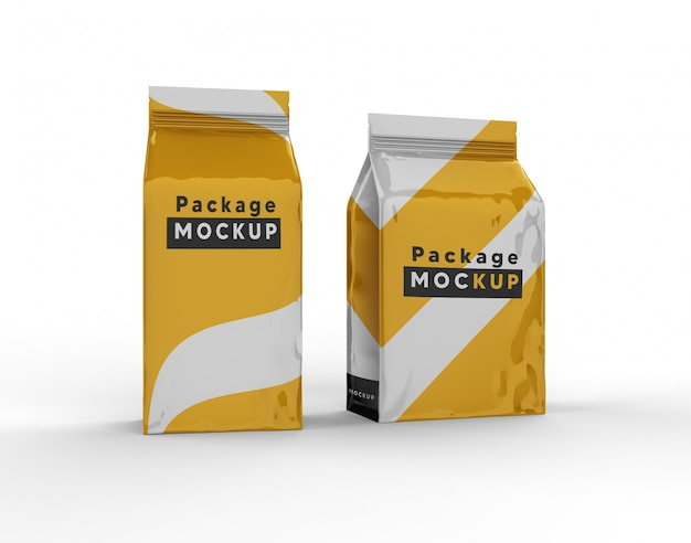 Pakket mock-up