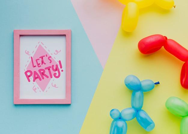 Palloncini compleanno con scritte