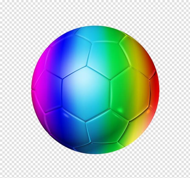 Pallone da calcio arcobaleno