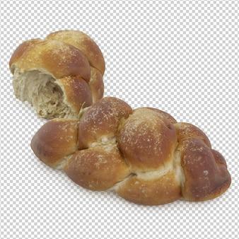 Pan dulce isométrico