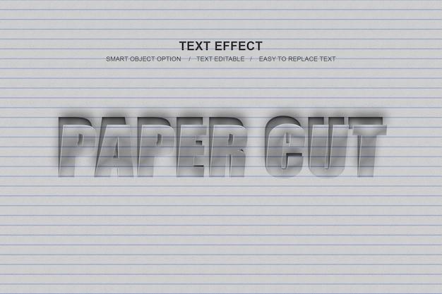 Papier gesneden photoshop layer-stijl