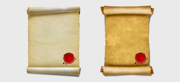 Papiro gráficos psd