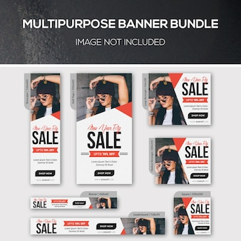 Paquete de banner multipropósito