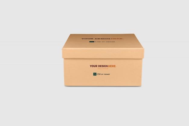 Paquete de caja maqueta