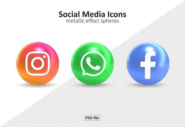 Paquete de iconos de redes sociales