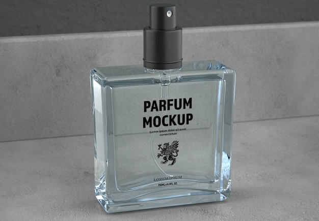 Parfumflesje mockup