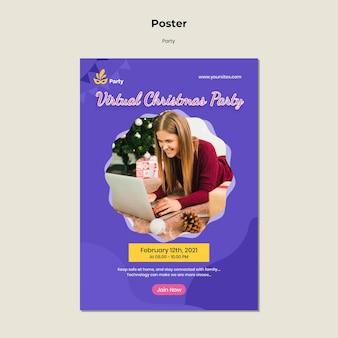 Partij poster sjabloon