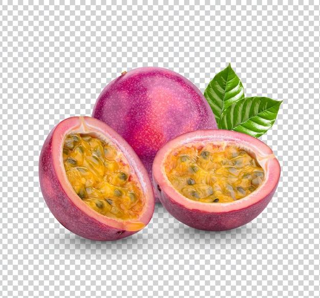 Passievrucht; passiflora edulis geïsoleerd