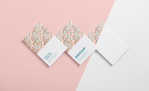 Patroon visitekaartjes arrangement