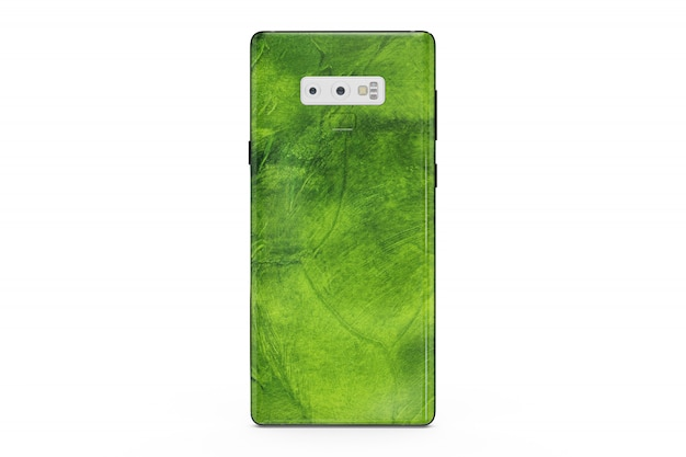 Pelle per smartphone isolata