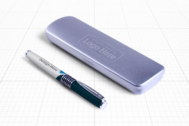 Pen box mockup