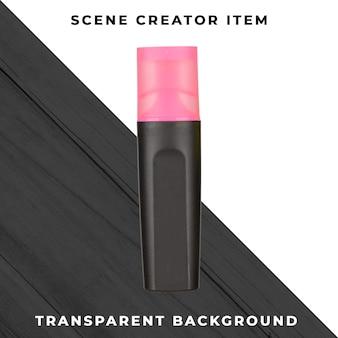 Pennarello oggetto psd trasparente