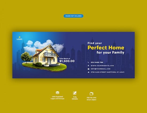Perfect huis voor verkoopbanner