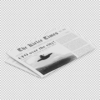 Periódico isométrico
