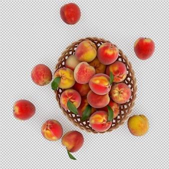 Perziken 3d render