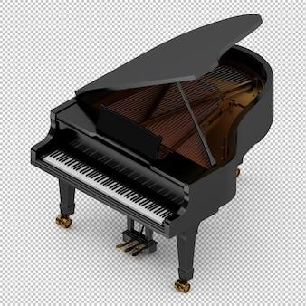 Piano isométrico clásico