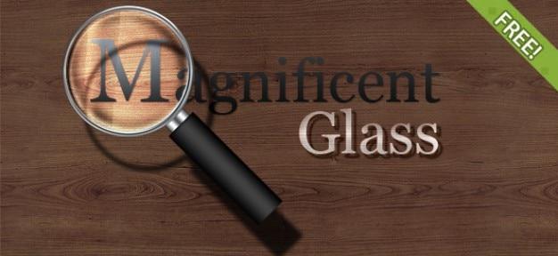 Pictogram van een vergrootglas