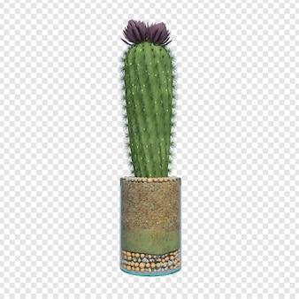 Plant 3d-rendering psd premium