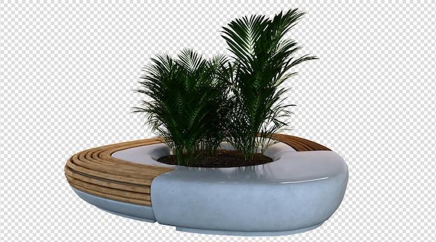 Plant 3d-rendering
