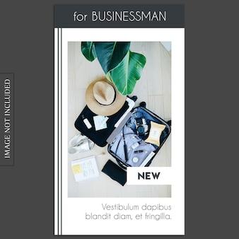 Plantilla básica, creativa, moderna de photo mockup e instagram para perfil de redes sociales