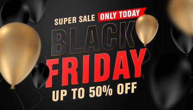 Plantilla de black friday super sale only today