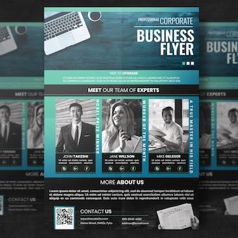 Plantilla de folleto corporativo moderno