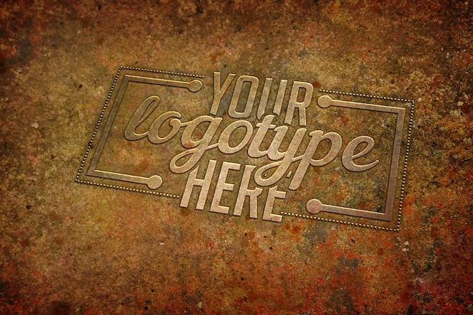 Plantilla de logotipo vintage