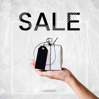 Plantilla de diseño de cartel de anuncio de promoción de venta