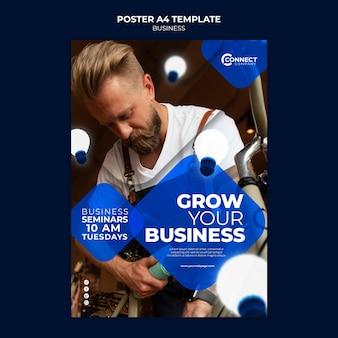 Plantilla de diseño de cartel de negocios