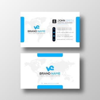 Plantilla de diseño de tarjeta profesional
