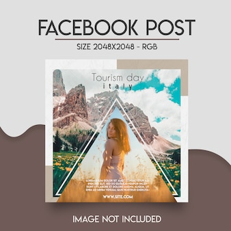 Plantilla de facebook para redes sociales