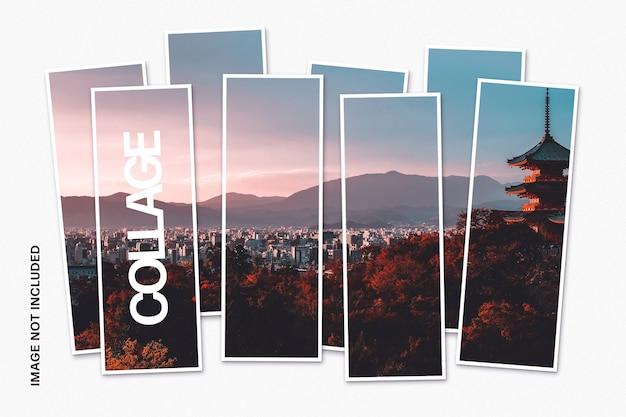 Plantilla de foto de collage