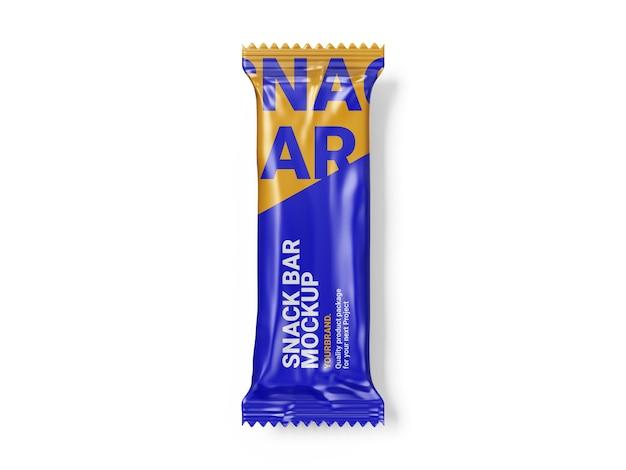 Plantilla de maqueta de snack bar
