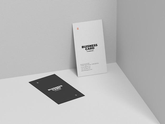 Plantilla de maqueta de tarjeta de presentación