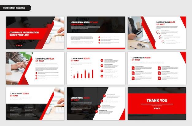 Plantilla de presentación de negocios corporativos