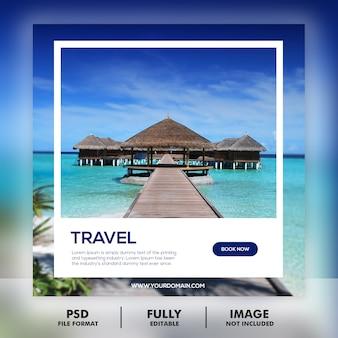 Plantilla de publicación de recorrido turístico