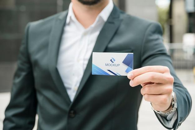 Plantilla de tarjeta corporativa