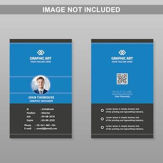 Plantilla de tarjeta de identificación
