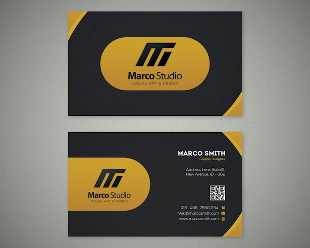 Plantilla de tarjeta profesional