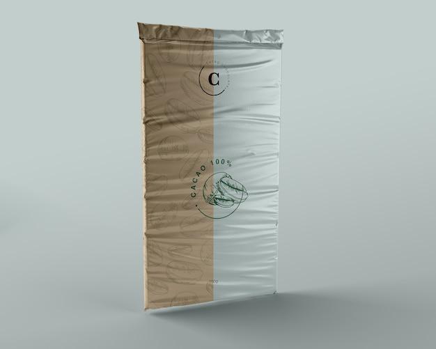 Plastic chocoladetablet verpakkingsontwerp