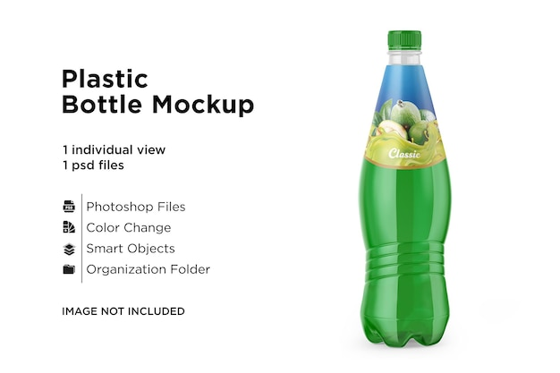 Plastic drinkflesmodel