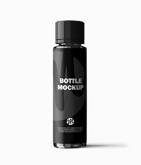 Plastic fles mockup ontwerp geïsoleerd