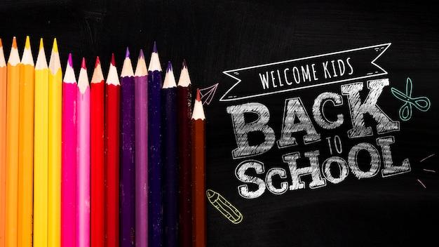 Plat lag terug naar school bericht op blackboard