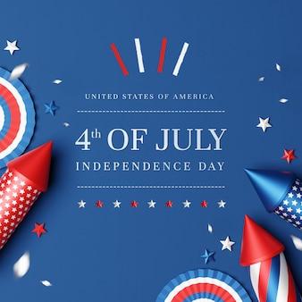 Plat leggen van 4 juli