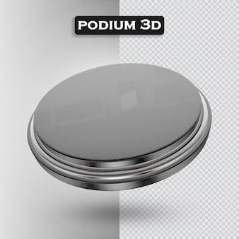 Podium icoon 3d render modern