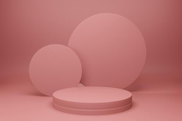 Podium in minimalistisch design
