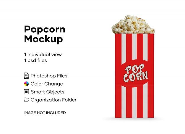 Popcorn mockup