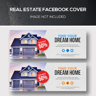 Portada de facebook de bienes raíces